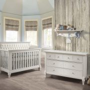 Belmont Collection - Baby Room in White (with panel in white)