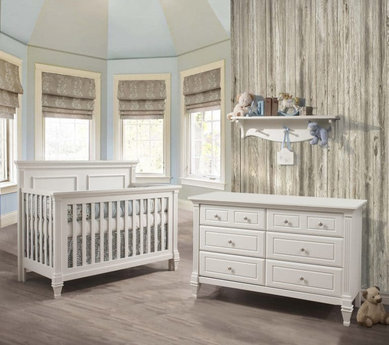 Belmont Collection - Baby Room in White (no panel)