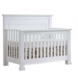 "Taylor ""5-in-1"" Convertible Crib in White"