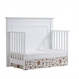 "Taylor ""5-in-1"" Convertible Crib as daybed in White"