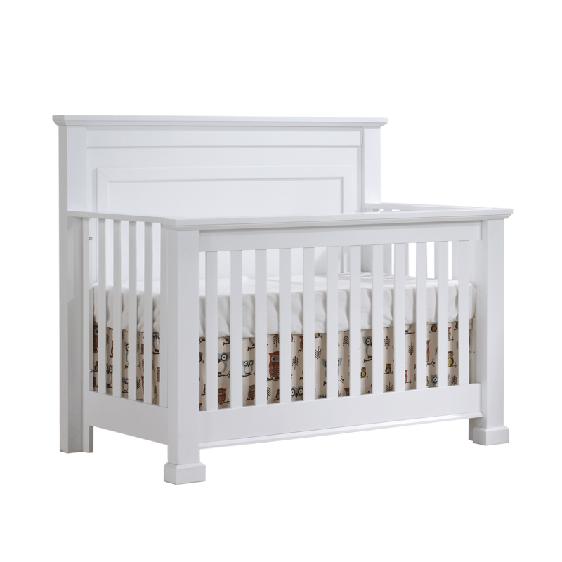 "Tayler ""5-in-1"" White Convertible Crib"