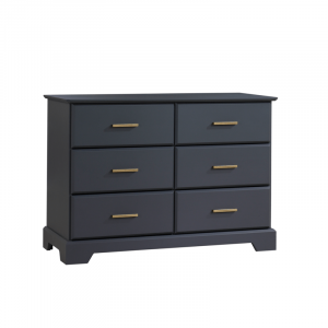 Tayler Double Dresser in Charcoal