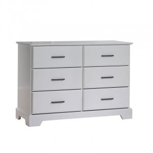Tayler Double Dresser in White