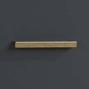 Antique brass gold handles on graphite background