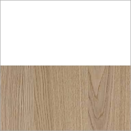 white and natural oak wood swatch