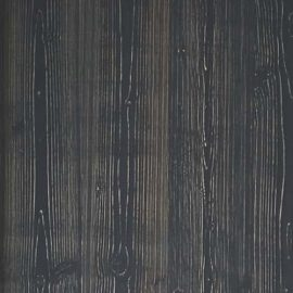 Black chalet wooden square swatch