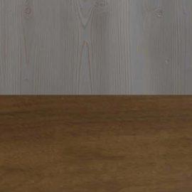 Half cognac, half grey wood square swatch