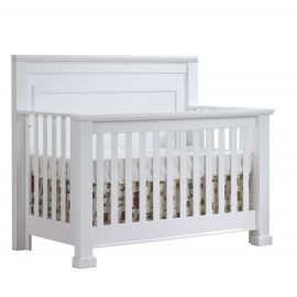 Taylor Convertible Crib in White