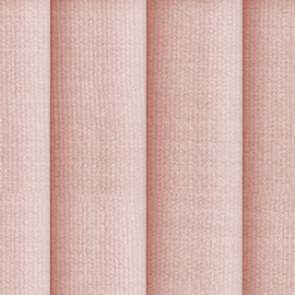 Channel Tufted Blush