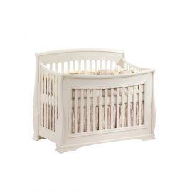 "Bella ""5-in-1"" Convertible Crib in Linen"