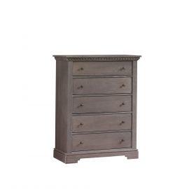 Ithaca 5 Drawer Dresser in Grigio