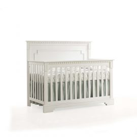 "Ithaca ""5-in-1"" Convertible Crib in White"