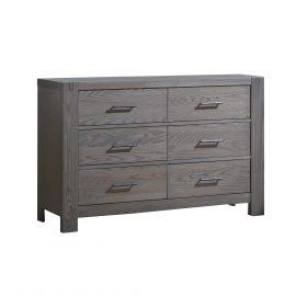 Rustico Double Dresser in Grigio