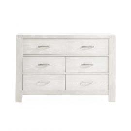 Rustico Double Dresser in White