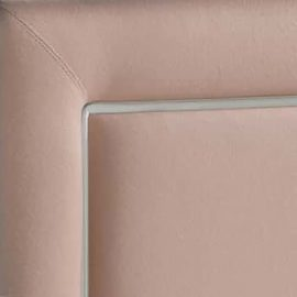 Upholstered Panel in Blush