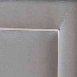 Close up of grey upholstery